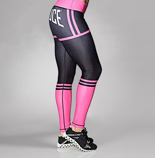 Six Deuce Butt Shaping Leggings, Pink
