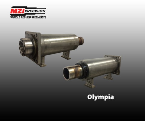 Olympia Spindle | MZI Precision | Machining Precision Parts