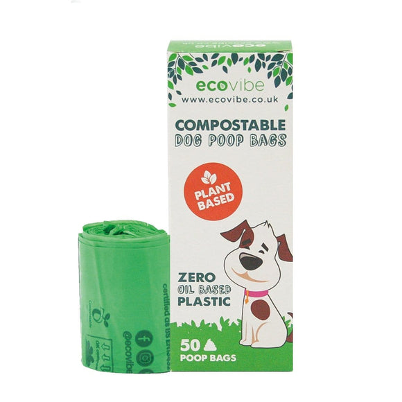 Biodegradable Compostable Poop Bags (50 bags) - smartspot.ie