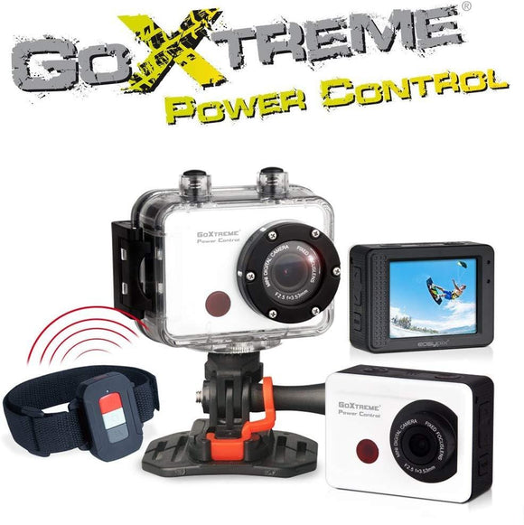 GoXtreme Power Control Action Camera - White |Pre-Owned - smartspot.ie