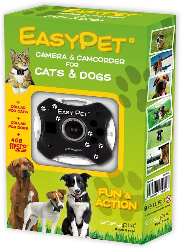 EasyPet Camera & Camcorder For Cats & Dogs - smartspot.ie