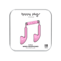 Happy Plugs Wired Earbud Earphones with In Line Remote and Microphone - Various Colours - smartspot.ie