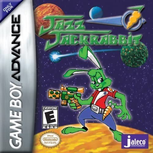 Jazz Jackrabbit - Gameboy Advance (No box) - smartspot.ie