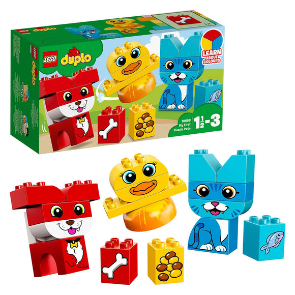 LEGO DUPLO MY FIRST PUZZLE PETS (10858) - smartspot.ie