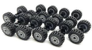 Lego Wheels Bundle Pack of 8 | Pre-Owned - smartspot.ie