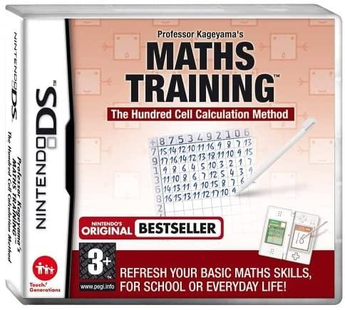 Maths Training Nintendo DS  No Box Game Only - smartspot.ie