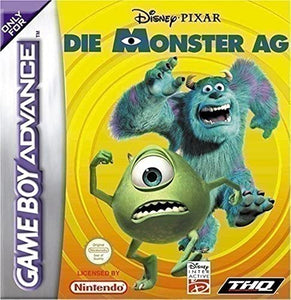 Monsters Inc - Game Boy Advance  (No Box) - smartspot.ie
