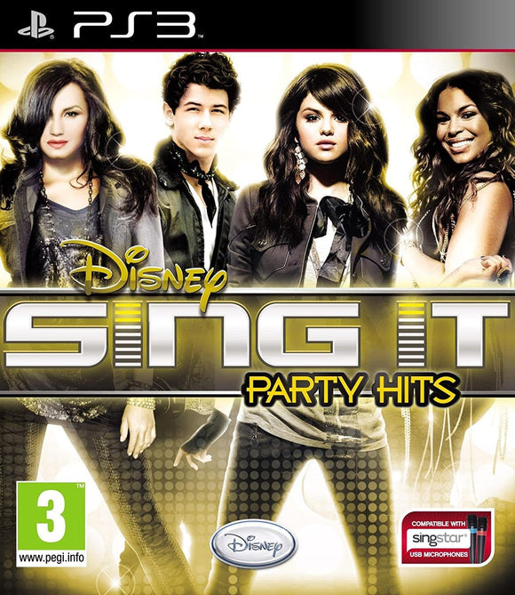 Disney Sing It : Party Hits PS3 - smartspot.ie