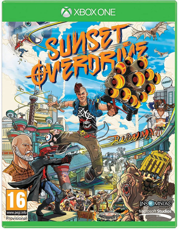 Sunset OverDrive XBOXONE Disc Only - smartspot.ie