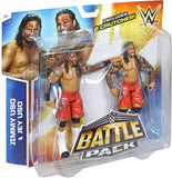 WWE Figure Two-Packs Series No.32 - Jimmy Uso vs. Jey Uso with 2 Crutches - smartspot.ie