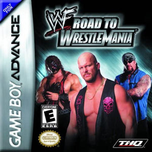 WWF Road to Wrestlemania - Gameboy Advance (No Box) - smartspot.ie