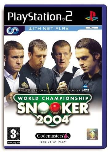 World Championship Snooker 2004 PS2 Game Only - smartspot.ie
