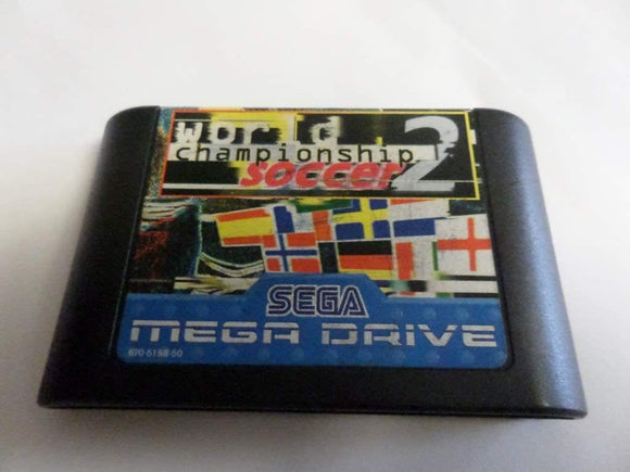 World Championship Soccer 2 - Sega Megadrive - Game Only No Box - smartspot.ie