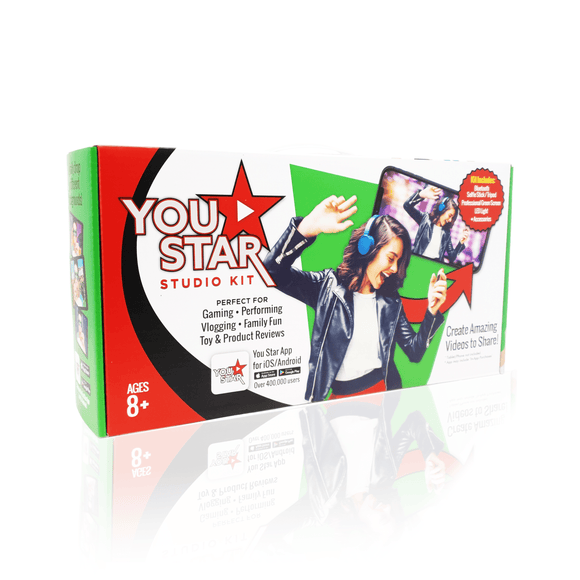 You Star Studio Kit Green Screen Studio Kit for Kids 2020