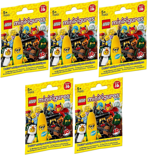 LEGO 71013 Mini Figurine Series 16 - Set from 2 Bags (Contents random, without Pre-selection) - smartspot.ie