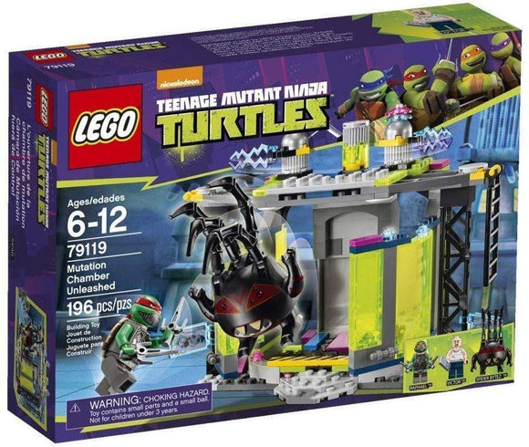 LEGO Mutation Chamber Unleashed Ninja Turtles 79119 - smartspot.ie
