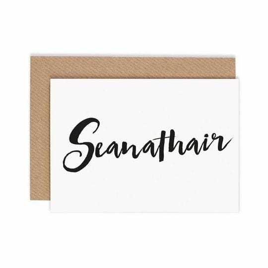 Seanathair | Grandfather  Greeting Card €3.95