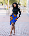Tuma Pencil Wrap Skirt