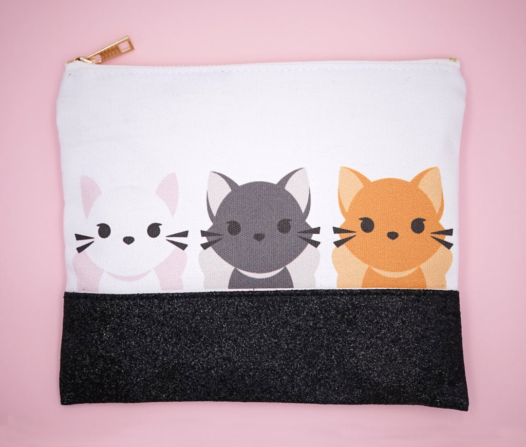Kitty Zip Pouch