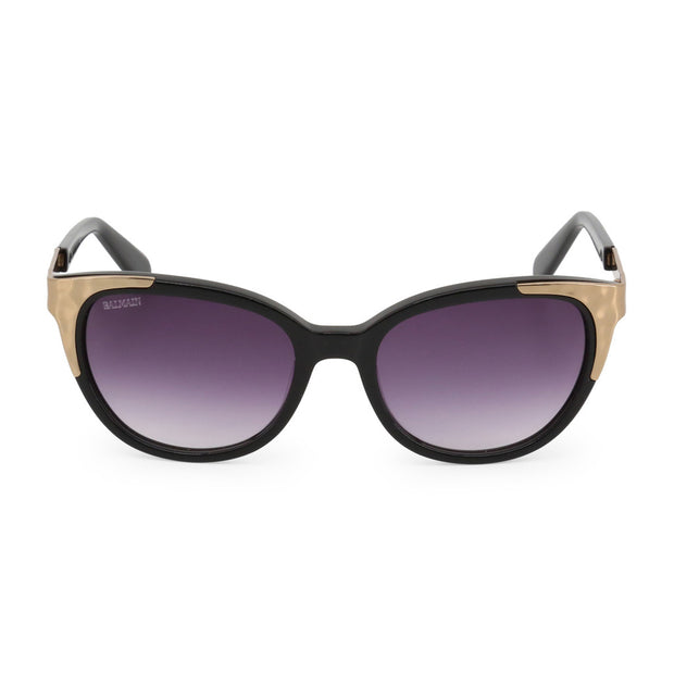 Balmain - classic gold sunglasses - B&B Luxury
