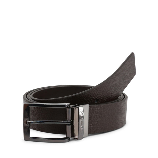 Emporio Armani - Leather belt - B&B Luxury