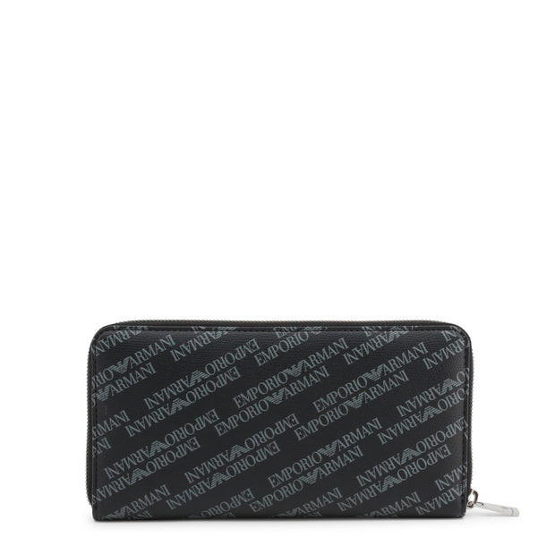 Emporio Armani - Logo zipper wallet - B&B Luxury