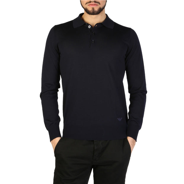 Emporio Armani - long sleeve polo - B&B Luxury