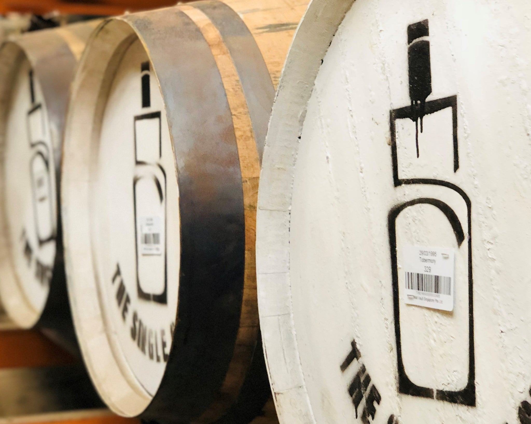 Types and sizes of whisky casks