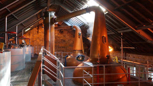 Distillation makes whisky gluten free