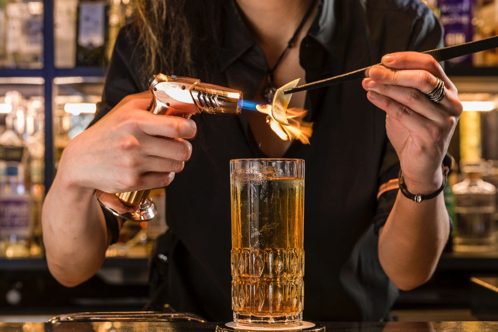 A fresh whisky highball
