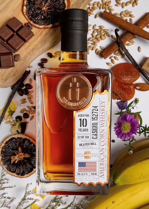 Heaven Hill 10 year old Kentucky bourbon whiskey