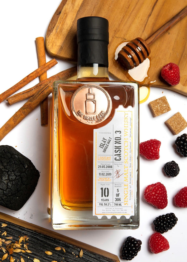 Islay 10 year old single malt scotch whisky