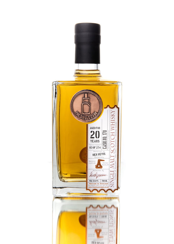 The Single Cask Ben Nevis 20 Year Single Malt Scotch Whisky