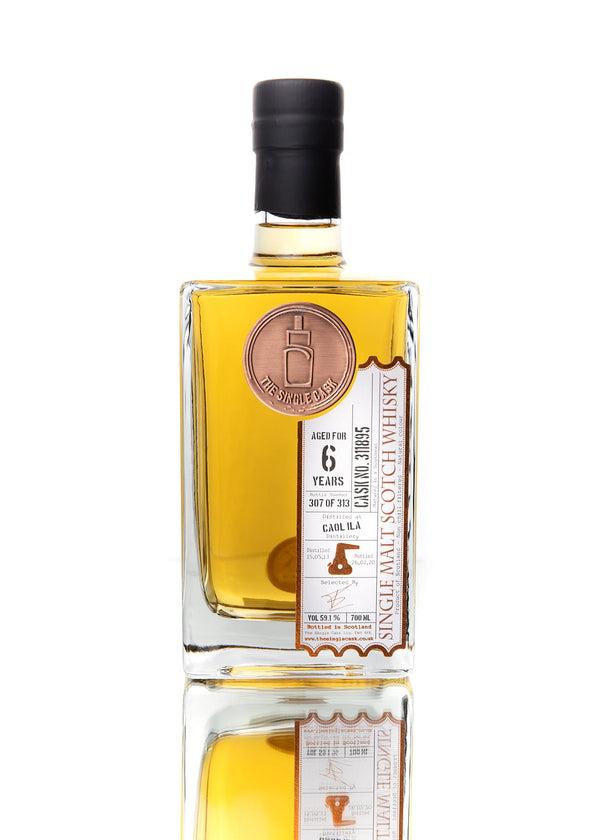 The Single Cask Caol Ila 6 Year Single Malt Scotch Whisky