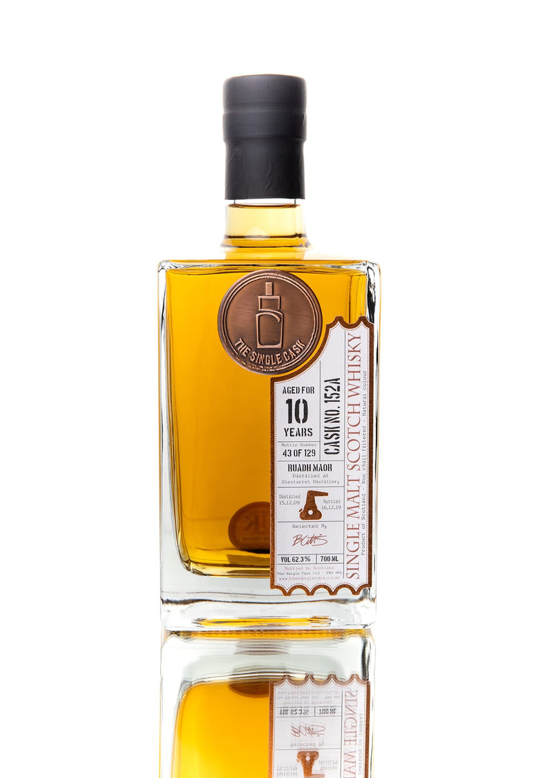 The Single Cask Ruadh Maor 10 Year Single Malt Scotch Whisky