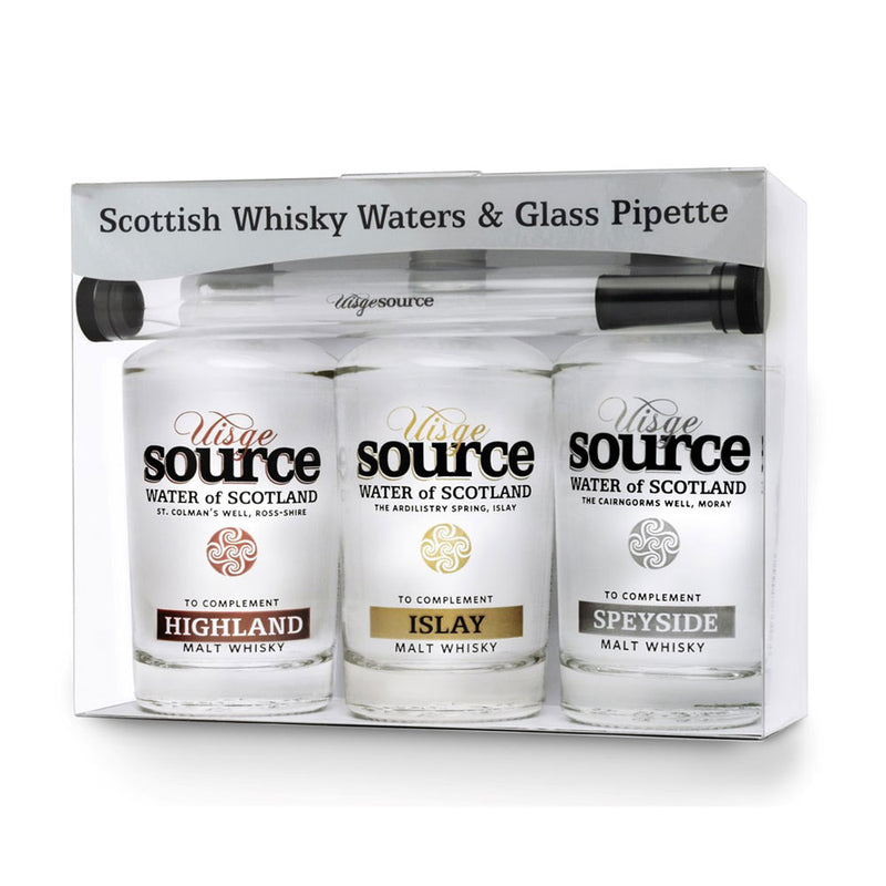 Uisge Source, regional water set for whisky