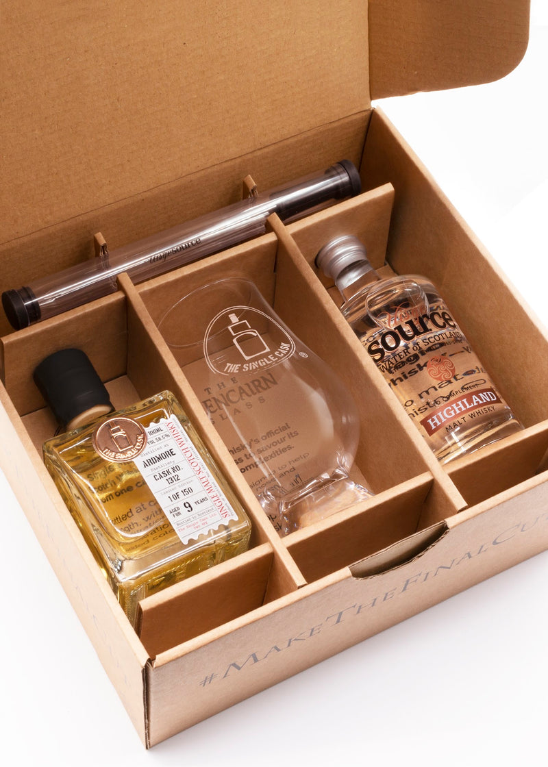 The Final Cut Highland whisky tasting set