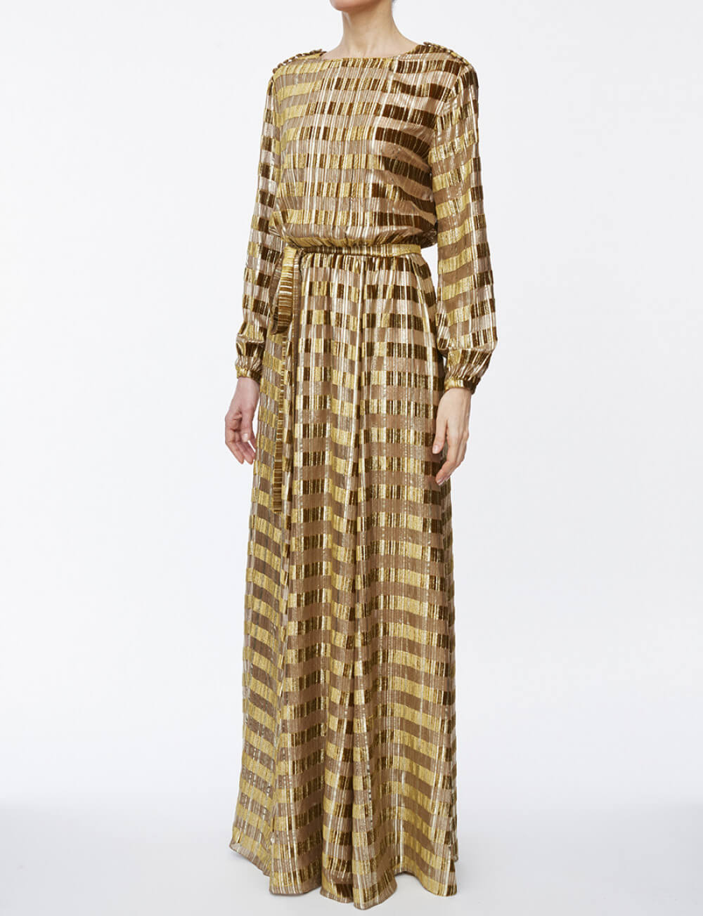 robe-adele-velours-et-lurex-gold