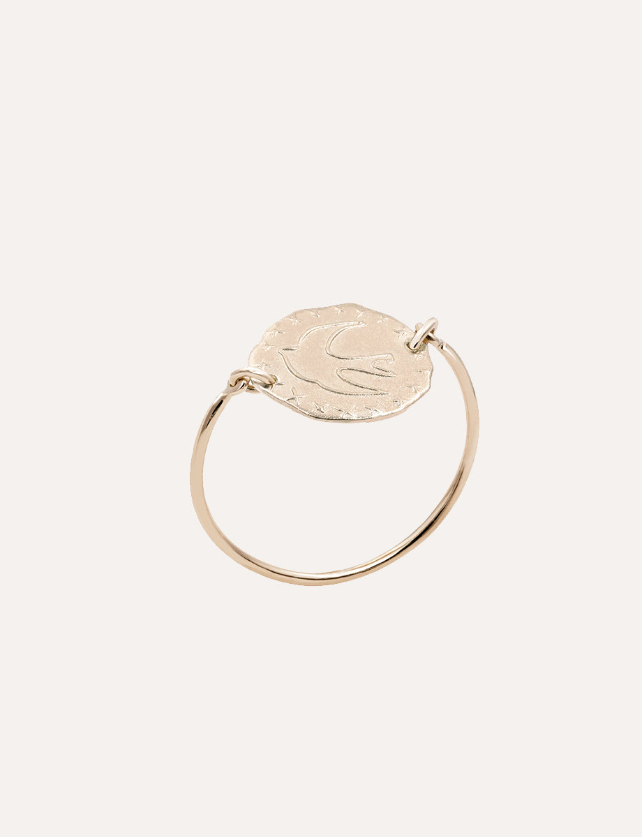 bague-lutece-colombe-plaque-or-rose