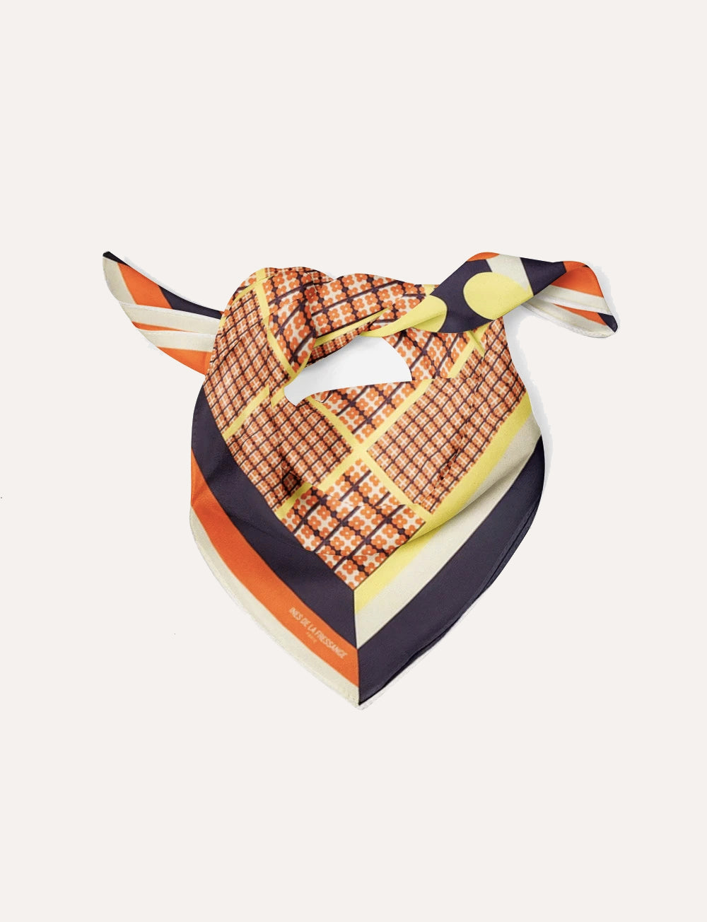 foulard-broadway-soie-orange