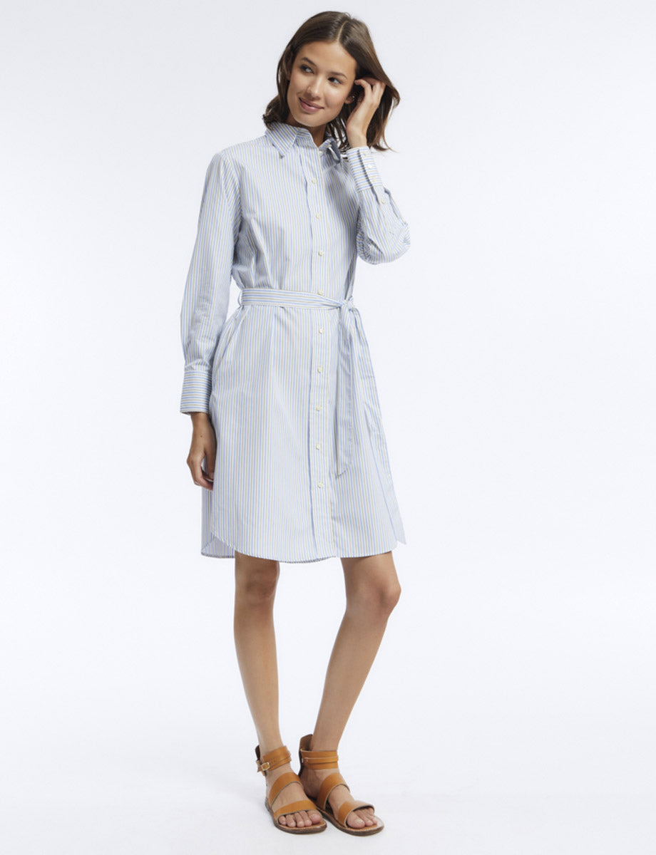 robe-amour-coton-a-rayures