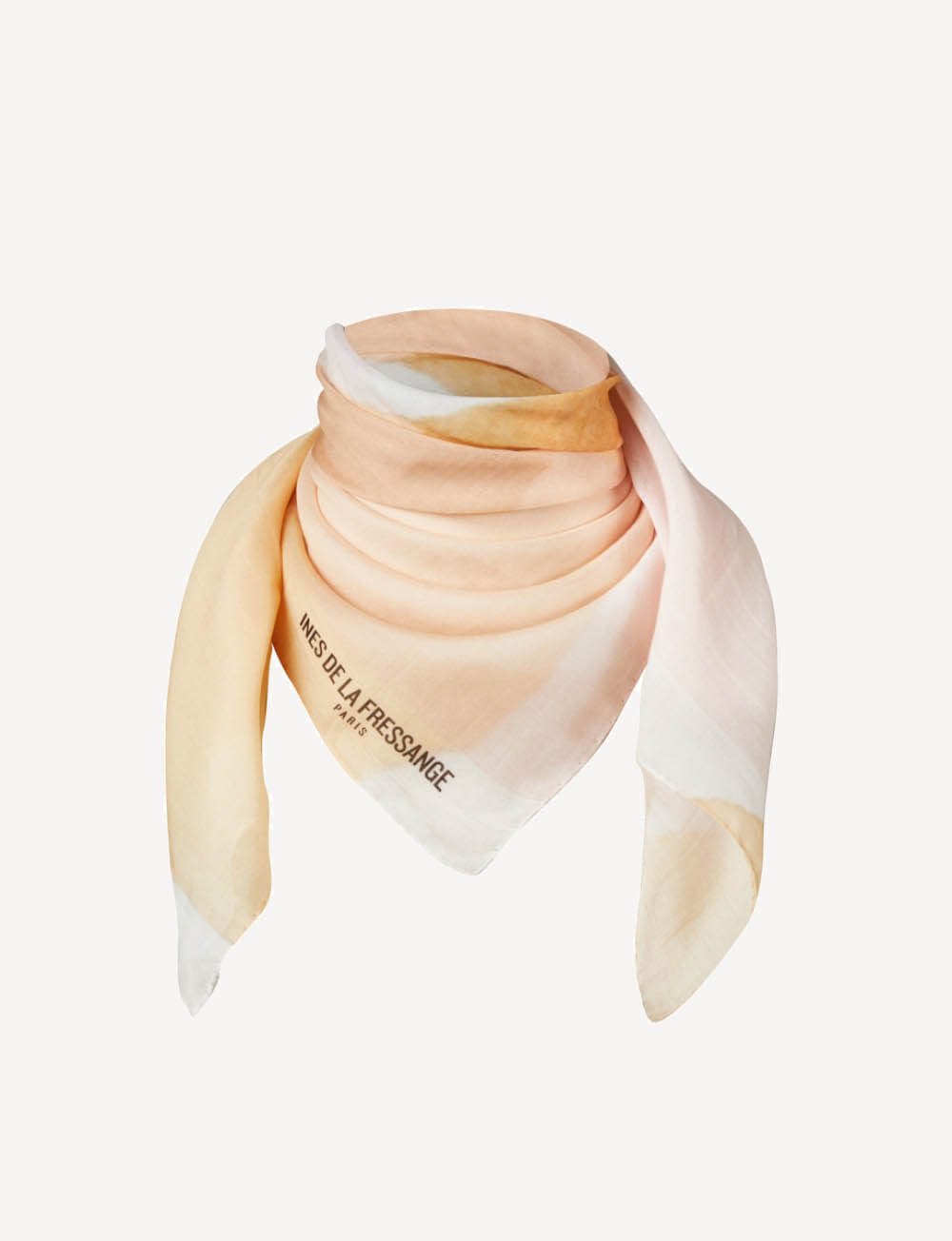 Foulard Brooklyn imprimé rose