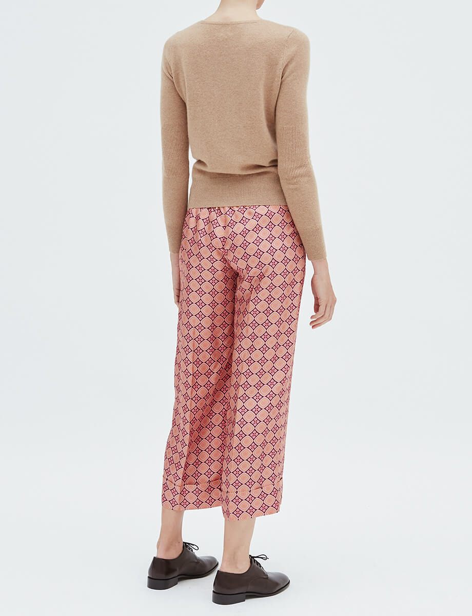 pantalon-ernest-soie-seventies-rose