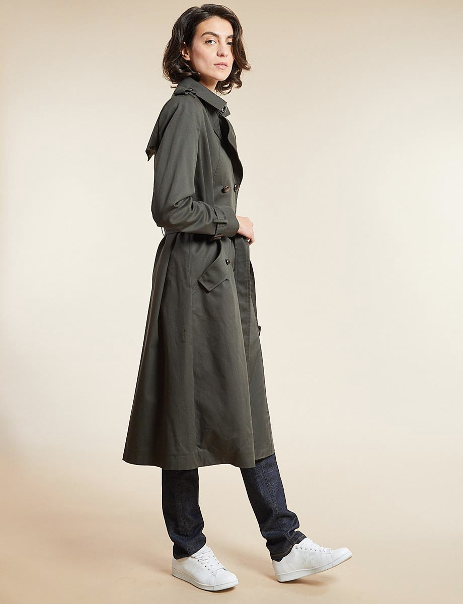 trench-coat-gaultier-kaki