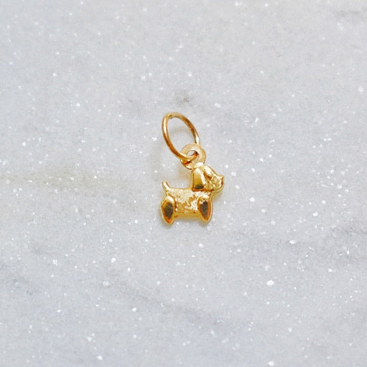 Puppy Dog Earring Charm