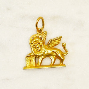 18k Lion of Saint Mark