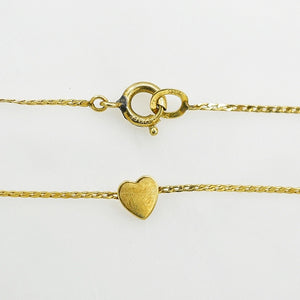 Single Heart Anklet