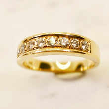 Load image into Gallery viewer, .50 ct Genuine Diamond Band 14k