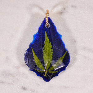 Pot Leaf Crystal