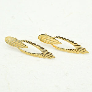 Fancy Fluted Earrings